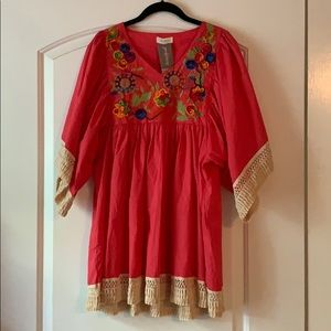 Velzera Embroidered Tunic